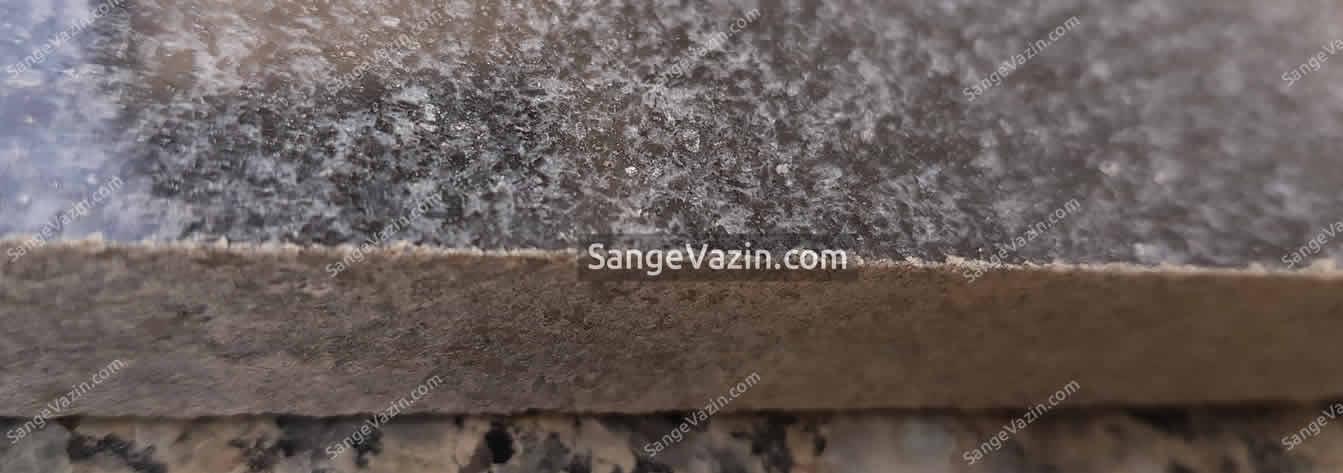 نمای بسته طرح گرانیت نطنز مشکی