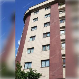 گرانیت قرمز یزد در نمای ساختمان