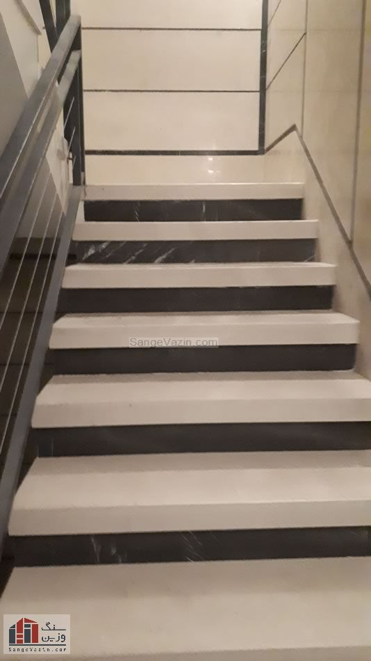 پله مرمریت هرسین ممتاز و زیرپله نجف آباد
