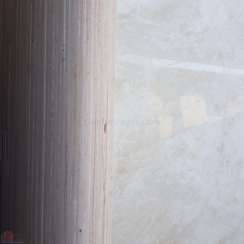 نمای دسته سنگ تراورتن عبای آباد بی موج سورت ۱۱