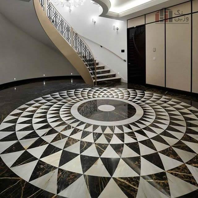 معرق سنگی مدل دایره