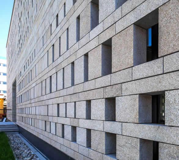 سنگ گرانیت در ساختمان