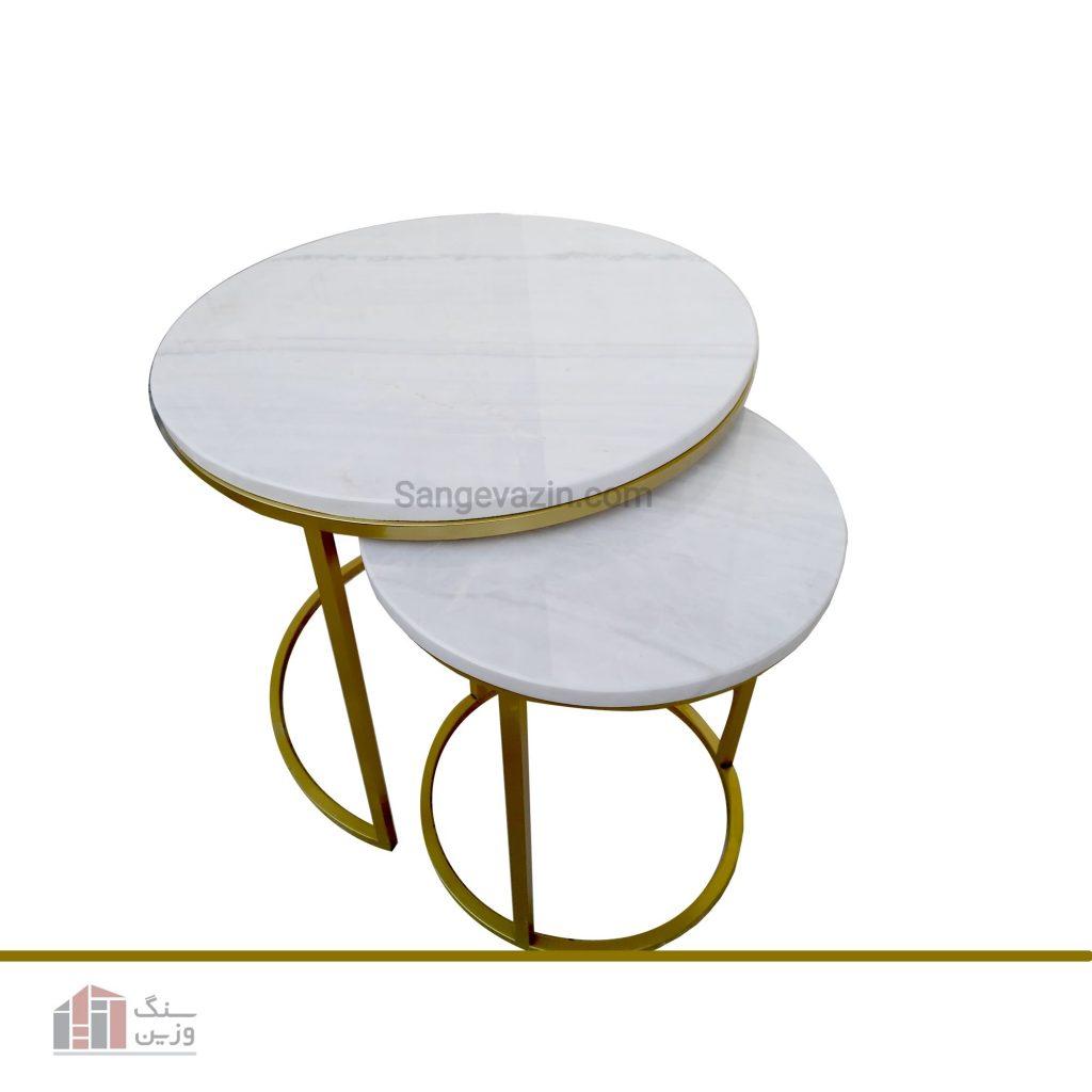 میز سنگی آویژه