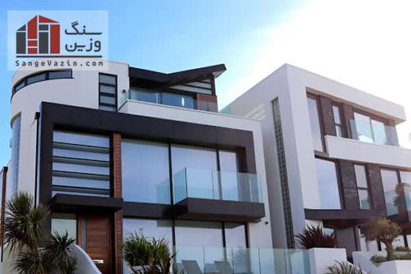 طراحی ترکیبی نمای ساختمان