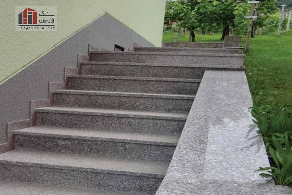 سنگ گرانیت پله