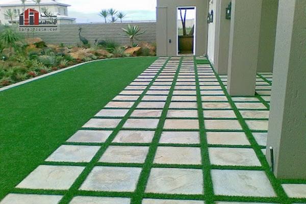 سنگ فرش مناسب باغ و پارک
