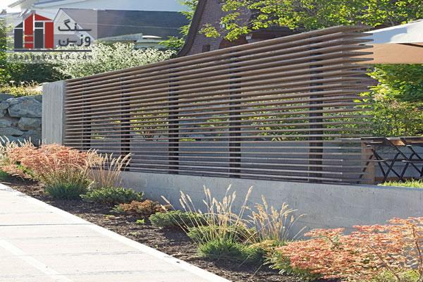 نقش نرده در نمای بیرونی ساختمان