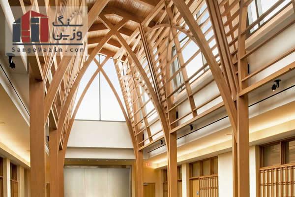 چوب محبوب ترین مصالح ساختمانی