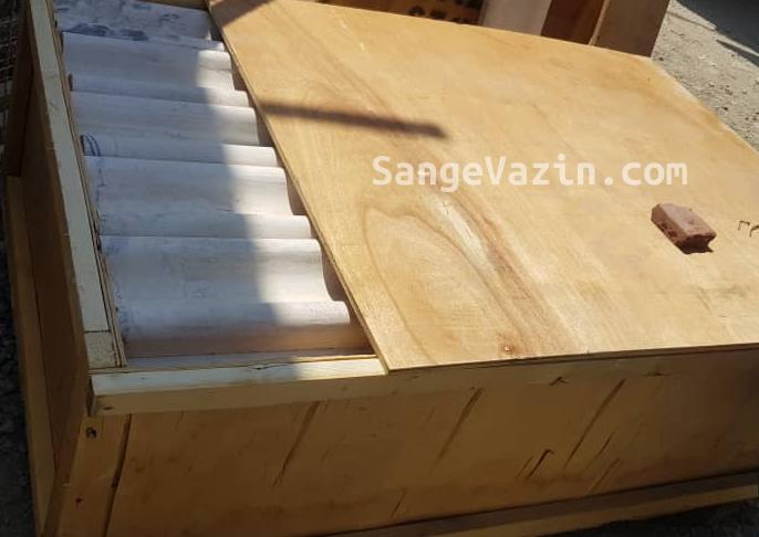 پالت صادراتی ابزار سنگی ستون