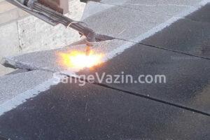 مضرس و فلیم کردن - شعله در سنگ