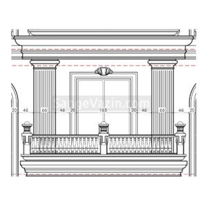 ابزار سنگی خطی - ابزار طولی ساختمان های نما رومی
