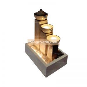آبنمای سنگی سانیا با سه ستون