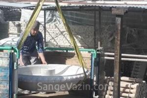 صادرات آبنمای سنگی طبقاتی به عراق