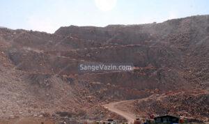 راه معدن تراورتن عباس آباد