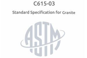 مشخصه های استاندارد سنگ گرانیت
