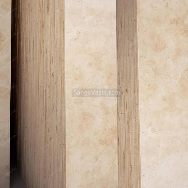 دسته سنگ پلاک شمش تراورتن دره بخاری سورت ۱