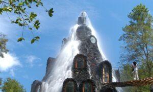 فواره آب هتل مونتانا مجیکا