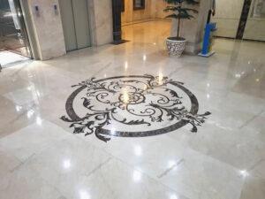 معرق سنگی سالن ورودی البرز