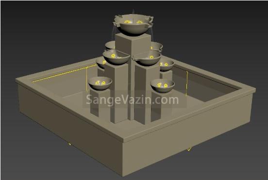 طراحی سه بعدی آبنما