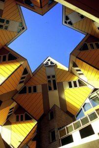 خانه های مکعبی هلند