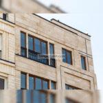 سنگ حاجی آباد سوپر در نمای ساختمان