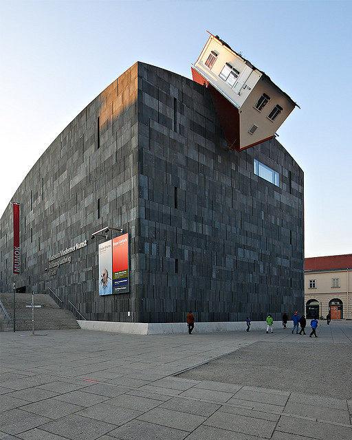 خانه وارونه موزه استرلیا