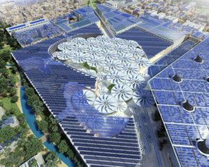 صفحات خورشیدی شهر مصدر