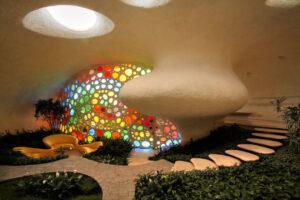 باغچه خانه حلزونی مکزیک