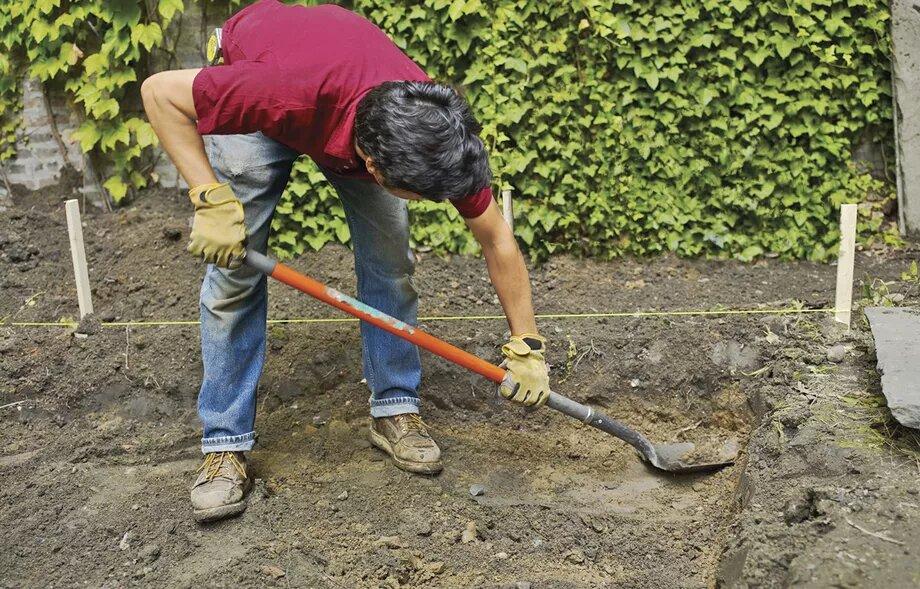 کندن خاک و حفاری