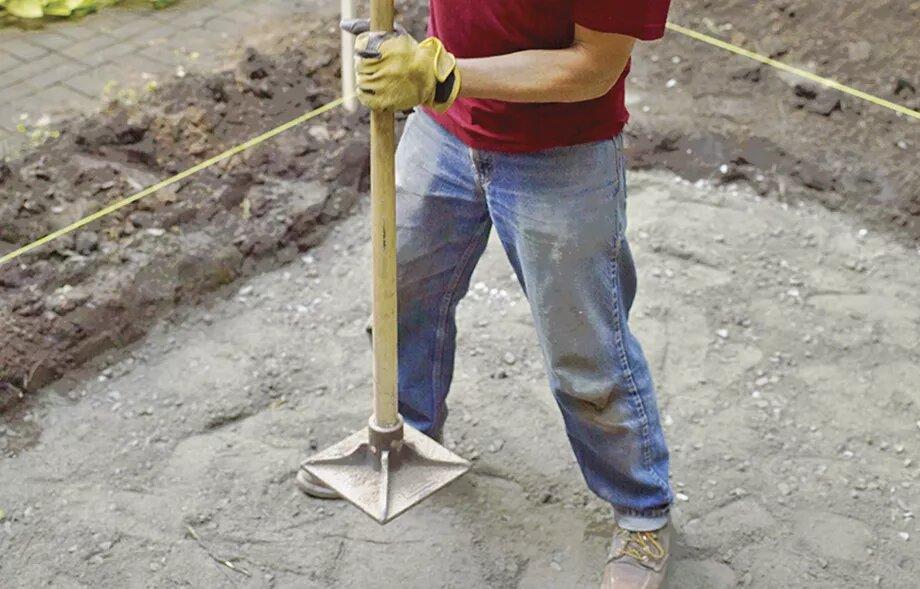 صاف کردن زمین پاسیو