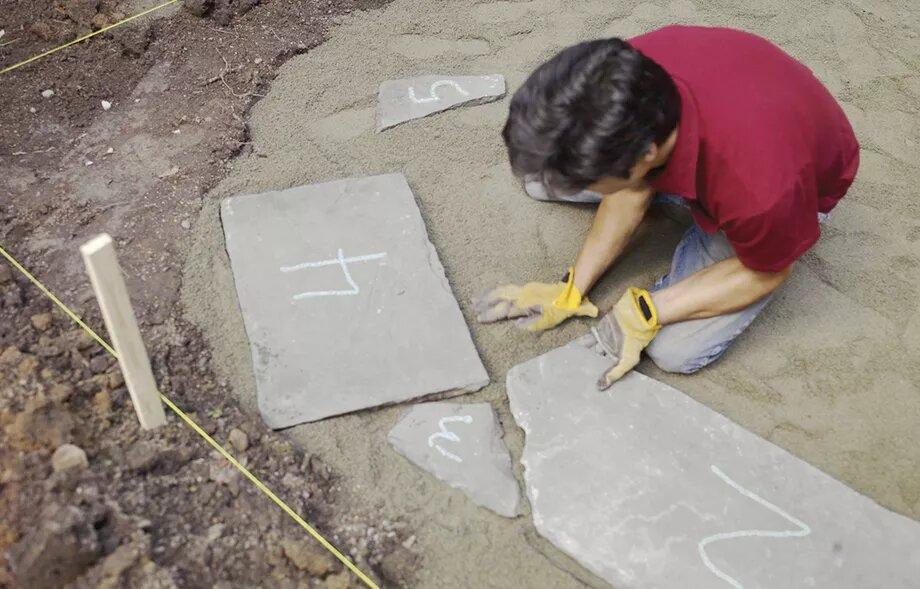 قرار دادن سنگ های پاسیو