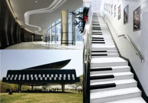ساختمان پیانو و ویولن