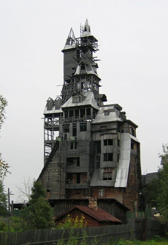 خانه چوبی روسیه