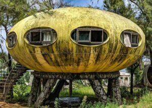 خانه بشقاب پرنده تایوان