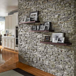 روکش سنگی در دیوارپوش تزئینی