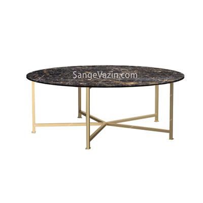 میز سنگی جلو مبلی آزرم