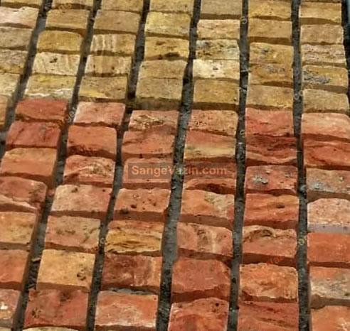 سنگ کوبیک در رنگ های مختلف