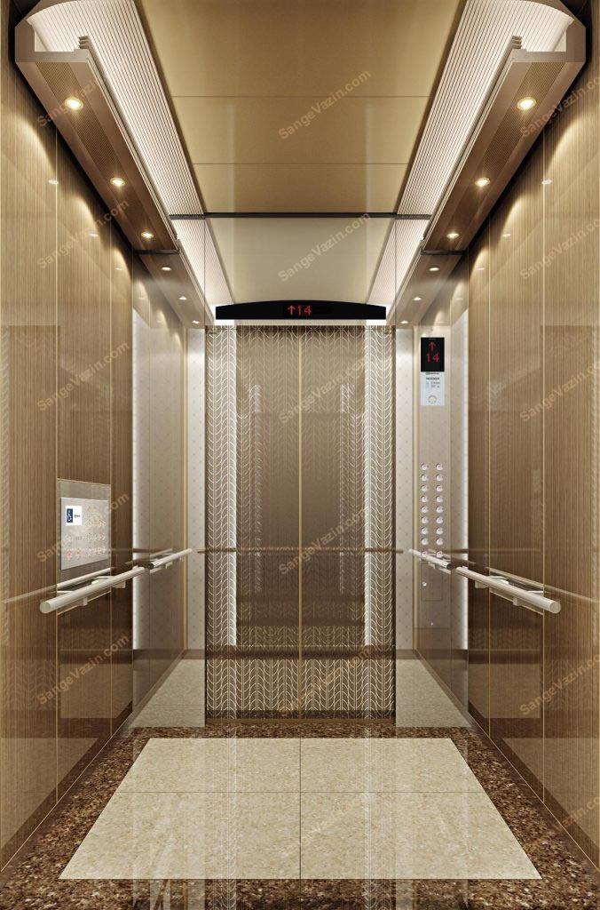 سنگ کف آسانسور مرمریت