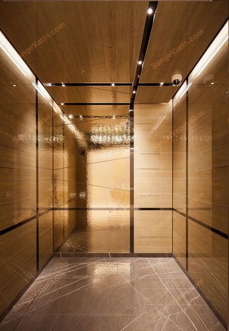سنگ کف آسانسور