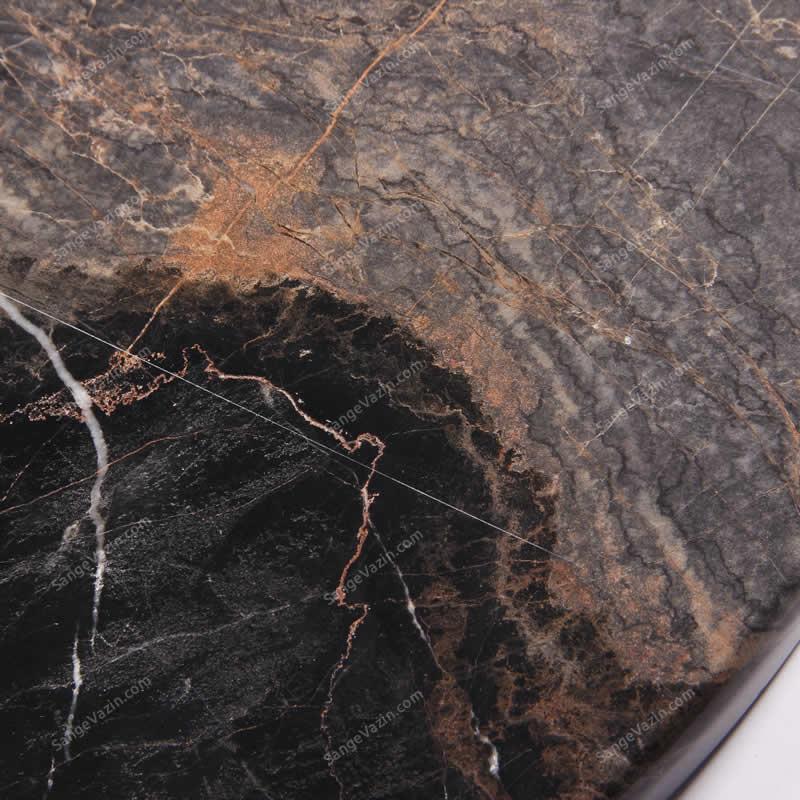 سنگ ساعت دیواری سنگی گلدن لاین