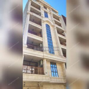 سنگ عباس آباد سوپر در نمای ساختمان