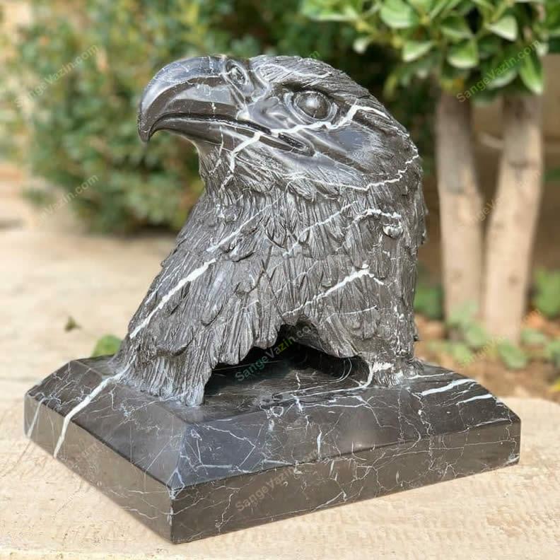 مجسمه زیبای سر عقاب