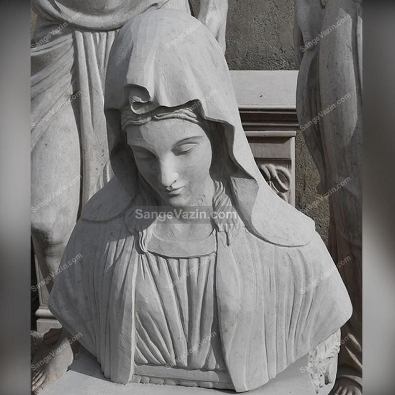 مجسمه سنگی مریم مقدس