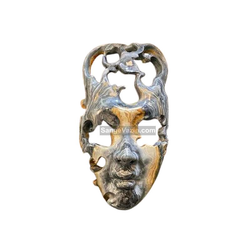 مجسمه طرح نقاب سنگی