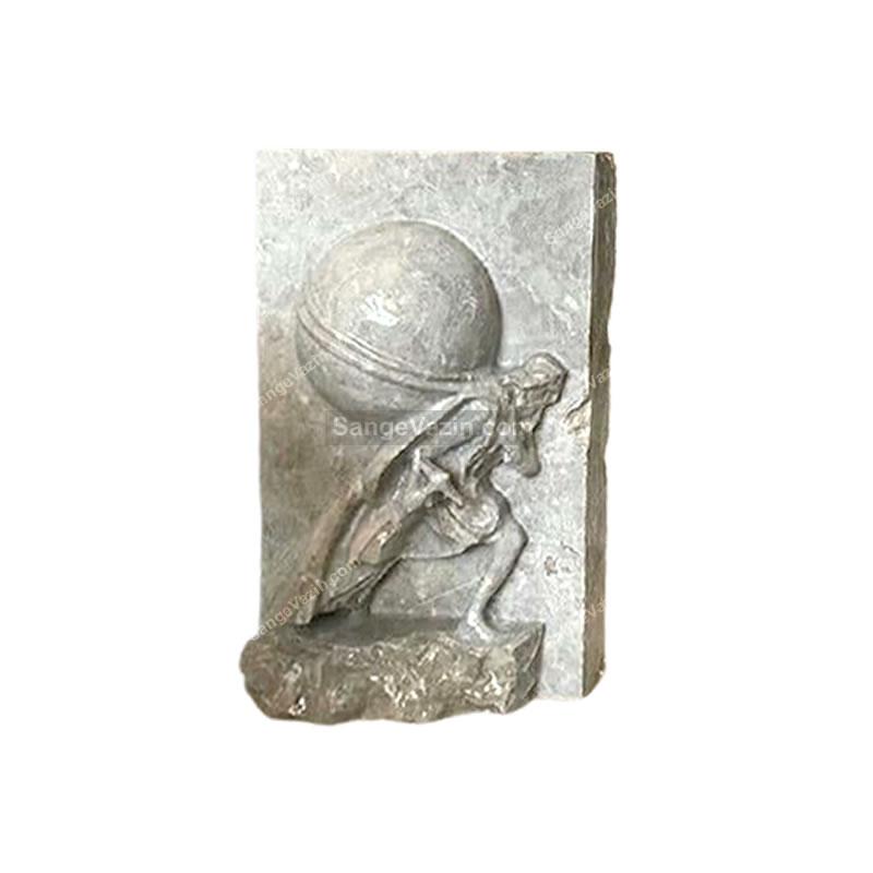 مجسمه معدنچی