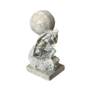 مجسمه سنگی معدنچی