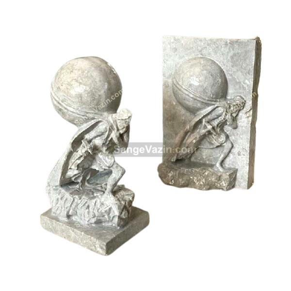 مجسمه سنگی معدن کار