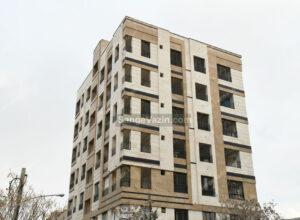 سنگ تراورتن در نمای ساختمان