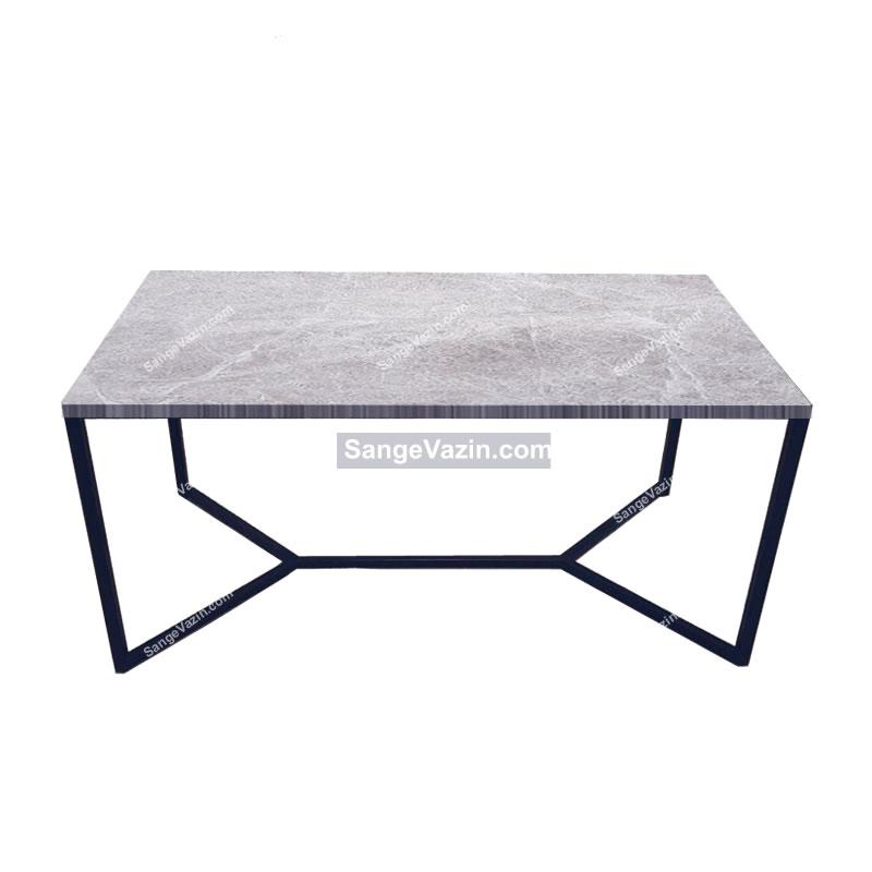 میز ناهار خوری دادمان با رویه سنگ مرمریت